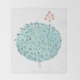 Poofy Frawna Throw Blanket