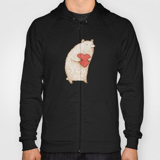 Bear with Heart Hoody