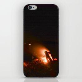 Campfire. iPhone Skin
