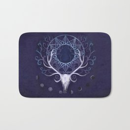 Season Of The Moon's Winter Fire Bath Mat