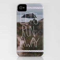 Let's Run Away: Cannon Beach, Oregon iPhone (4, 4s) Slim Case