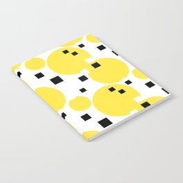 Abstract New York Yellow Taxi Notebook