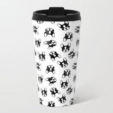 French bulldog pattern Metal Travel Mug