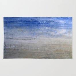 """1236-1 abstract beach"" Rug"