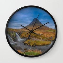 Kirkjufell. Wall Clock