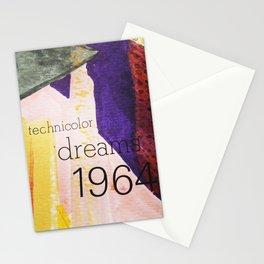Technicolor Dreams Stationery Cards