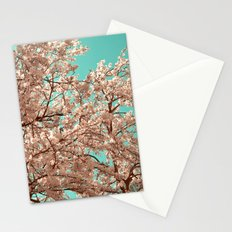 spring tree XVIII Stationery Cards
