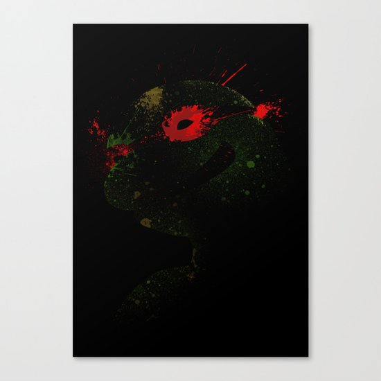 Raph Canvas Print