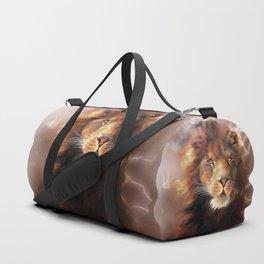 Lion Chocolate Duffle Bag