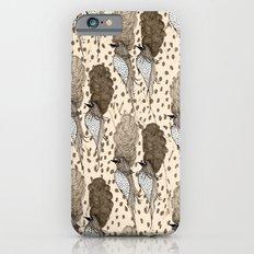 Bouffant Birds Pattern Slim Case iPhone 6s
