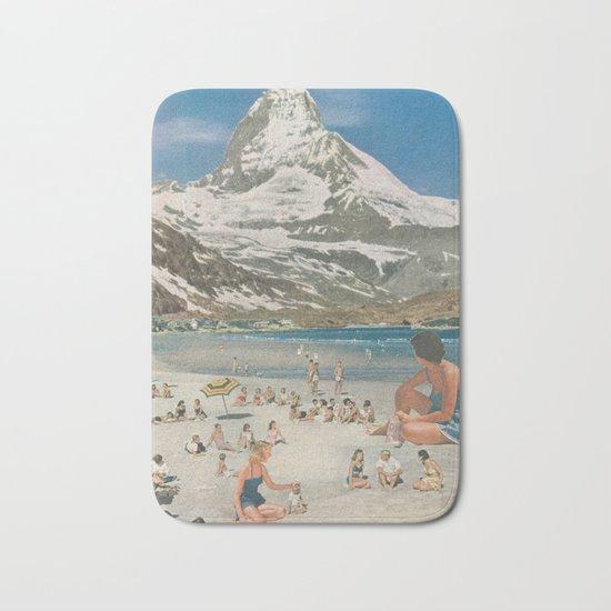 Matterhorn beach Bath Mat