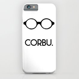 CORBU. iPhone Case