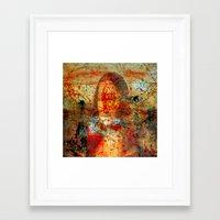 da vinci Framed Art Prints featuring Leonardo da Vinci Abstract  by  Agostino Lo Coco