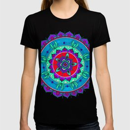 Little Mermaid Inspired Mandala Art T-shirt