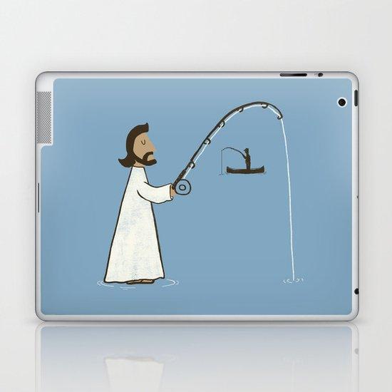 Jesus Fish Laptop & iPad Skin