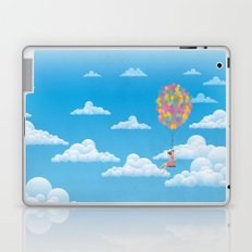 Balloon Girl Laptop & iPad Skin