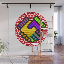 Friendship is Freedom - Dots Wall Mural
