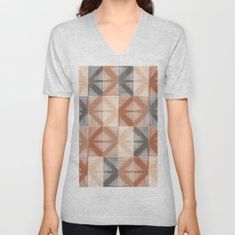 Mudcloth Tiles 01 #society6 #pattern Unisex V-Neck