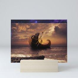 A Ship for All Destinations Mini Art Print