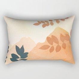 Morning in The Mountains Rectangular Pillow