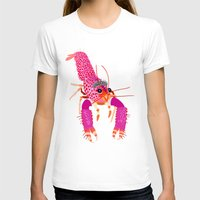 lobster T-shirts featuring lobster by Elise Cayouette