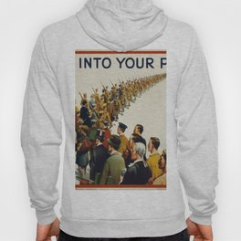 Vintage poster - Step into your place Hoody