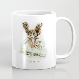 Springing Spaniel Coffee Mug