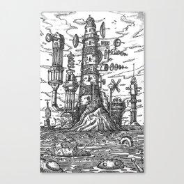 The Hi-Tech Lighthouse Canvas Print