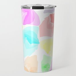 Colorful Aqua Travel Mug