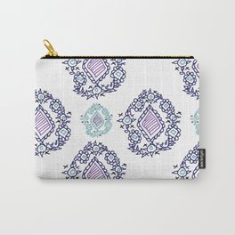 doodle ikat Carry-All Pouch