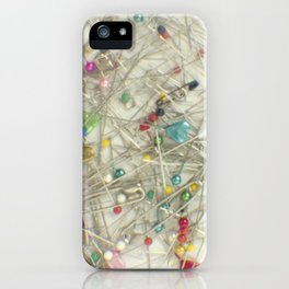 Pins and needles iPhone Case