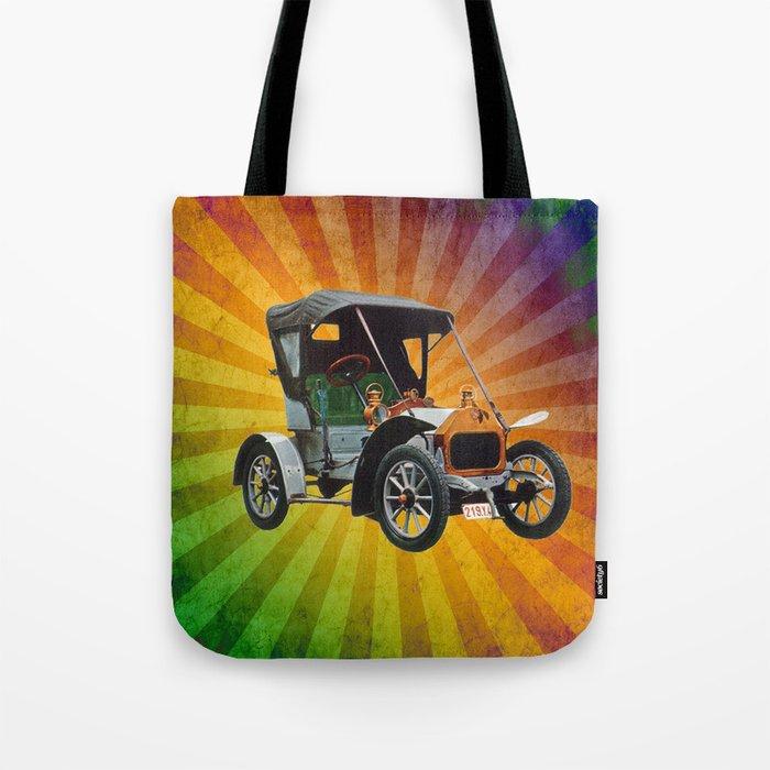 Vintage Car 05 Tote Bag