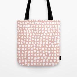 Dots / Pink Tote Bag