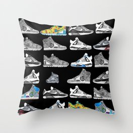 Seek the Sneakers Throw Pillow