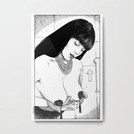 asc 694 - L'empire du burlesque (Burlesque made me a better mom) Metal Print