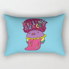 Rolling Burger Rectangular Pillow
