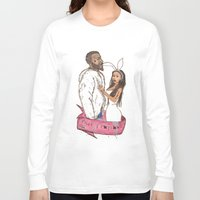 minaj Long Sleeve T-shirts featuring pills and potions. by Late Bloomer