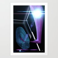 FingerPrint Art Print