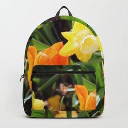 Little Bee In Flight Backpack