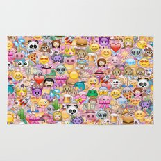 emoji / emoticons Rug