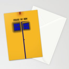 Glow of the TARDIS Stationery Cards