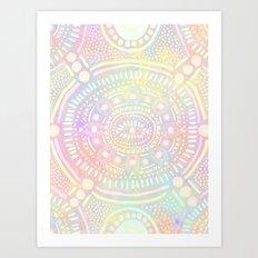 Eye of Spirit II Art Print