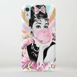 Audrey Hepburn Pop Art iPhone Case