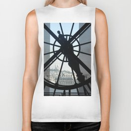 View of Sacre Coeur Biker Tank