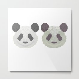 Panda Panda (I Got Broads in Atlanta) Metal Print