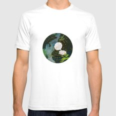 SEEING SOUNDS Mens Fitted Tee White SMALL