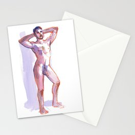 COLBY, Nude Male by Frank-Joseph Stationery Cards