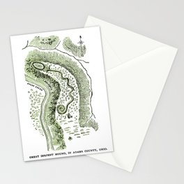 Great Serpent Mound Stationery Cards