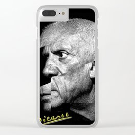 Pablo Picasso Cubism Collage Clear iPhone Case