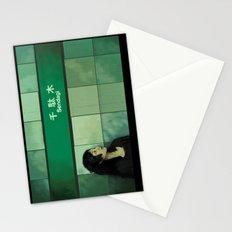 Subway Girl Stationery Cards